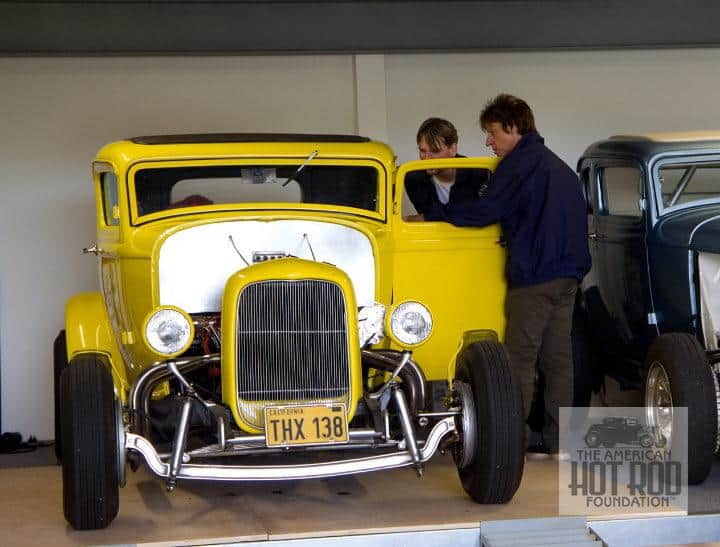 Jeff Beck Showing David Steele His American Graffiti Coupe
