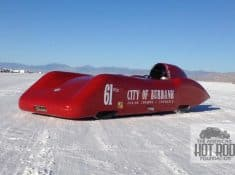 Willie Davis Streamliner at Bonneville