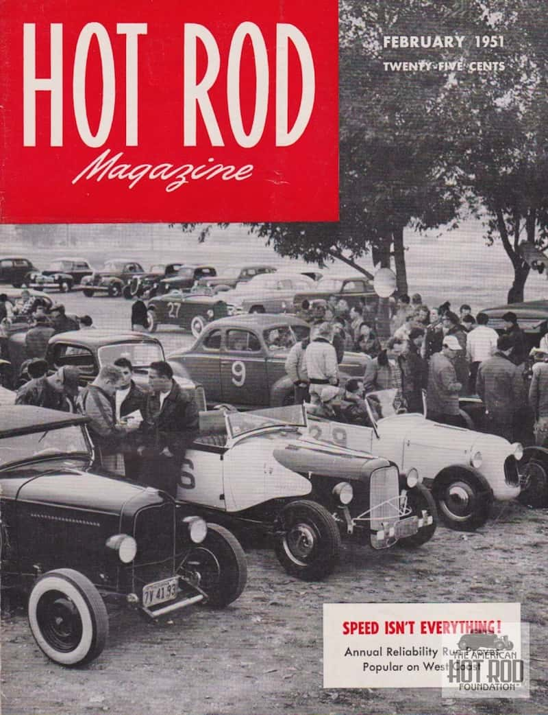 Hot Rod Cover Feb 1951
