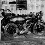TDC_141 Bobby Strahlman Motorcycle Shop West Hollywood 1942